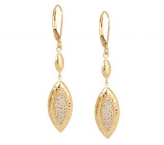 AffinityDiamond 1/5 ct tw Marquise Shape Drop Earrings 14K Gold