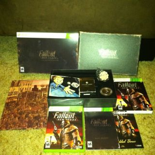 FALLOUT New Vegas Collectors Edition Xbox 360 COMPLETE code used