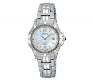Seiko Coutura Ladies Watch with Mother of PearlDial —