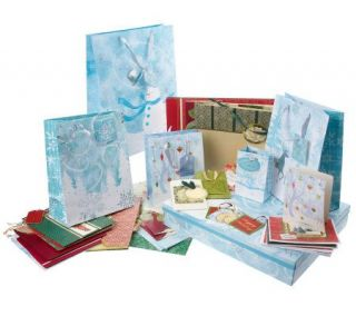 Design Scapes 38 piece Elegant Gift Bag and More Set —