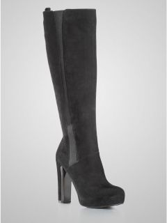 Guess Corrie Womens Fashion Suede High Dress Boot Shoes All Sizes