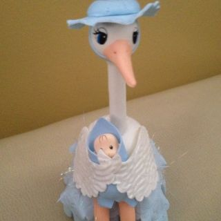 Baby Shower Boy Cake Topper Free Corsages