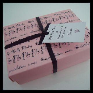 Baby Girl Personalised Babygrow Sleepsuit in Gift Box