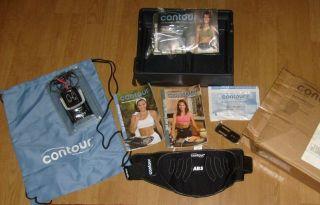 Contour AB Belt Core ABS Core Muscle Sculpting System Workout Exercise