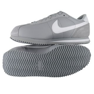 Nike Leather Cortez Light Gray Mens US Size 13 UK 12
