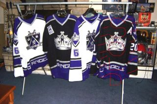 LOS ANGELES KINGS GAME WORN CRAIG CONROY JERSEY