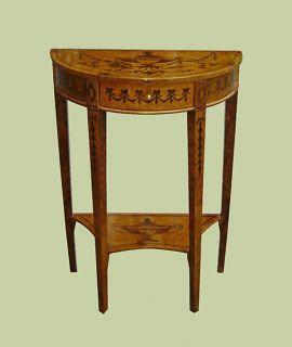Stunning Napoleoniii Style Demi Lune Console Table
