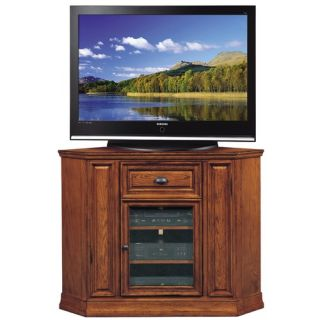 Holliday 46 Boulder Creek Highboy Corner TV Stand in Oak 82232