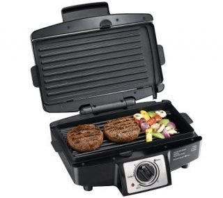 Hamilton Beach 25332 Easy Clean Indoor Grill —