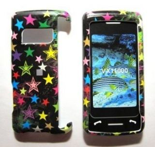 Colored Stars Hard Case Cover for LG enV Touch VX11000 Phone Snap On