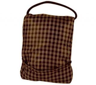 Travelon Stow Away Messenger Bag   Plaid —