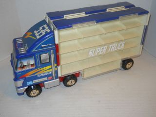SUPERLINER SUPER TRUCK 1 64 DIECAST CAR CARRY CASE VERY COOL 36 CARS