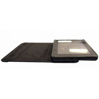 EMPIRE  Kindle Fire Black Leather Folio Shell Case Cover
