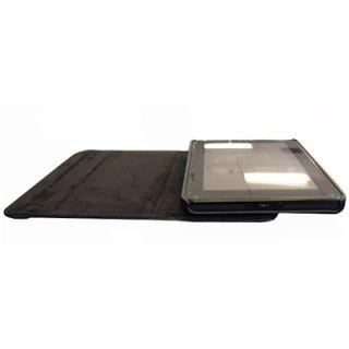 EMPIRE  Kindle Fire Black Leather Folio Shell Case Cover
