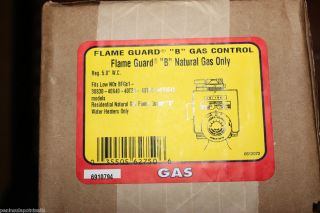 Robertshaw Flameguard B Natural Gas Control for Water Heaters