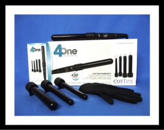 iso beauty trio curling iron set