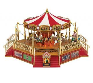 Mr. Christmas Worlds Fair Boardwalk Carousel —