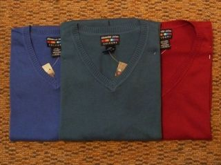 New Alexander Julian Colours Sweater Vests Big Tall