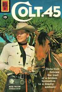 Complete Colt 45 Comics Books on DVD TV Western Cowboy Golden Age