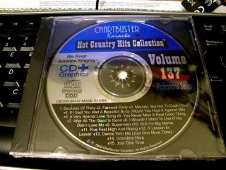 Chartbuster Karaoke Hot Country Hits 1998 cd G Conway Twitty Joe