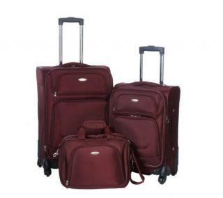 Samsonite 3 pc. Ballistic Expandable Spinner Luggage Set —