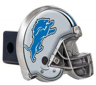 NFL Detroit Lions Metal Helmet Trailer Hitch Cover —