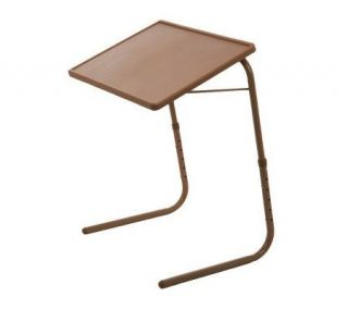 Table Mate Adjustable Solid Color Multi Purpose Folding Table