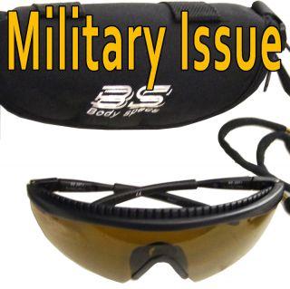 Body Specs COTS Pistol Kit 3 amber Combat Eyewear