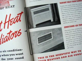 Radiator Co Catalog NY Heating Air Conditioning Boiler Radiator