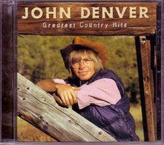 John Denver 18 Greatest Country Hits Collection 1998 CD 70s Pop Folk