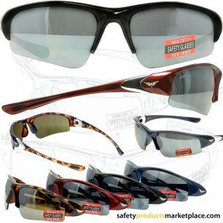 Cool Breeze Safety Glasses Smoke Lenses Black Frame