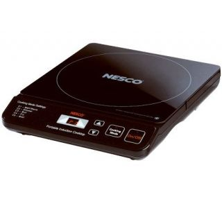 Nesco Portable Induction Cooktop —