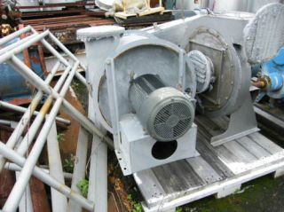 Industrial 20HP Exhaust Fan Blower 10 or 12 in NJ