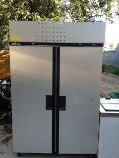 Double Door Commercial Freezer Refrigerator