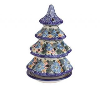 PolishStoneware Signature Summer Morning Large Christmas Tree
