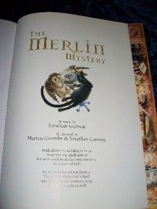 The Merlin Mystery Worlds Hardest Puzzle Book RARE