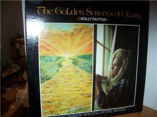 Streets of Glory Dolly Parton LP Country Gospel Hard to Find