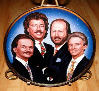 Brothers Renowned Groups of Country Music Singers Songs Plate