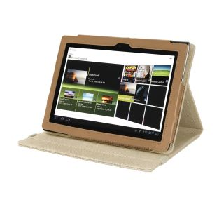Cover Up Sony Tablet S 9 4 Inch Natural Hemp Version Stand Case Sahara