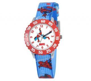 Marvel Spider Man Stainless Time Teacher Watch   J308254