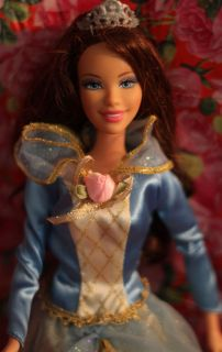 Courtney Barbie Doll 12 Dancing Princesses RARE Brunette Brown Hair