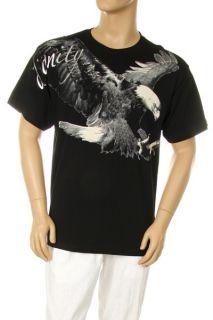 GS American Eagle Graphic Design MMA Animal Print Hot New Black White