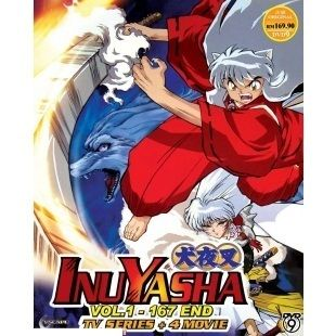 InuYasha Complete TV Series DVD Box Set 4 Movies