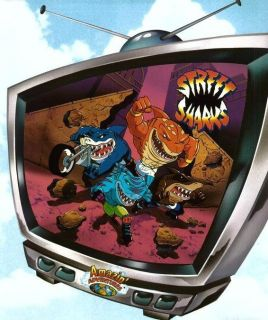 Street Sharks Complete TV Series Seasons 1 2 7 DVD Set
