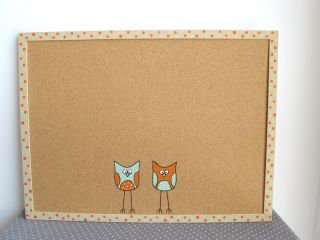 Cork Board   OWLS   kids hand painted message board, Students Bulletin