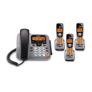 new corded cordless phone system with answering machine shipping info