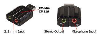 Broken Sound Fix Add Enhance Desktop Laptop Audio Interface with USB