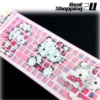 New Hello Kitty Laptop Notebook Keyboard Sticker Cover Wholesale