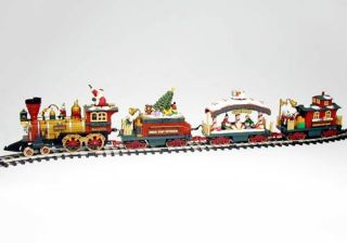 New Bright Holiday Express Animated Train Set. —