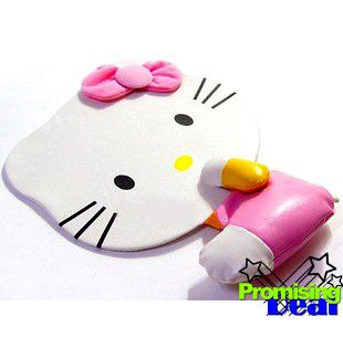 Hello Kitty 3D PU Leather Laptop Computer Mouse Pad